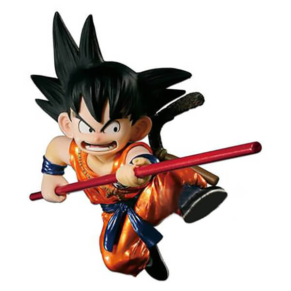 Banpresto Dragon Ball Scultures Son Goku Figure - Special Metalic Colour Version