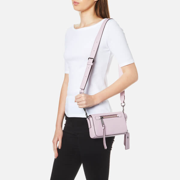 d7369859d067 Marc Jacobs Women s Recruit Cross Body Bag - Pale Lilac Womens ...