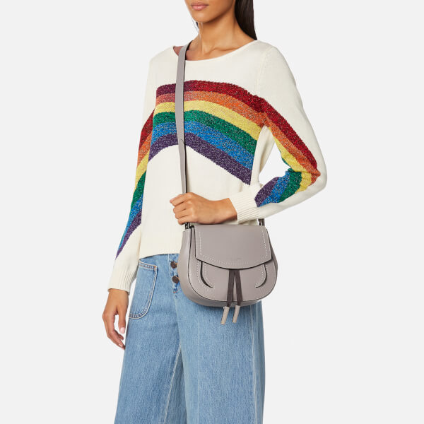 984a02805fb1 Marc Jacobs Women s Maverick Mini Shoulder Bag - Smoke Grey  Image 3