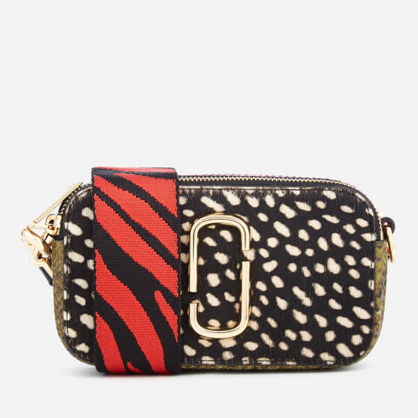 Marc Jacobs Women's Wavy Spot Snapshot Bag - Black Multi