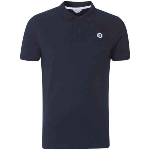Jack & Jones Core Men's Booster Logo Polo Shirt - Navy