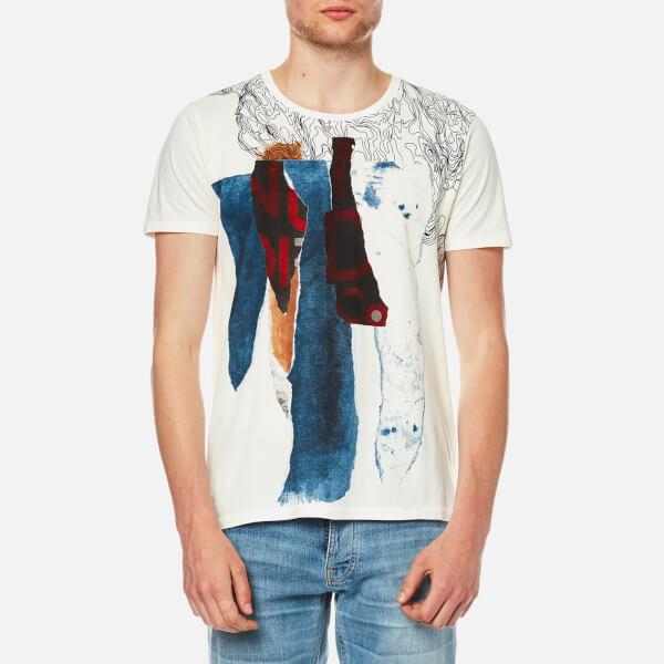 Nudie Jeans Men's Anders Pocket T-Shirt - Torn Paper