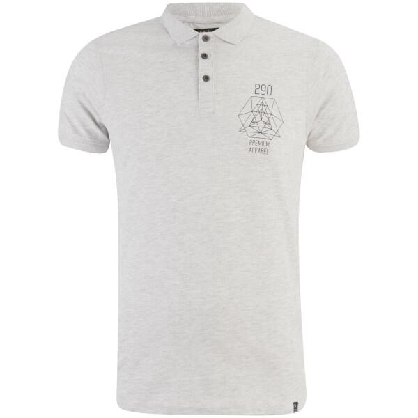 Smith & Jones Men's Parclose Polo Shirt - Light Grey Marl