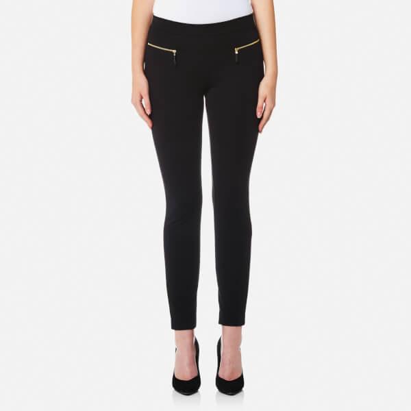 Michael Michael Kors Women S Ponte Pants Black Free Uk