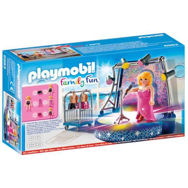 Scène avec artiste (6983) -Playmobil Family Fun