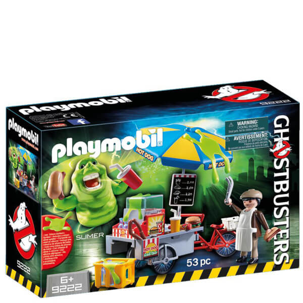 Playmobil Ghostbusters™ Slimer with Hot Dog Stand (9222)