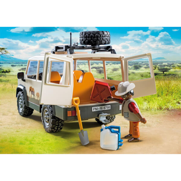 playmobil wildlife safari jeep met leeuwen 6798. Black Bedroom Furniture Sets. Home Design Ideas