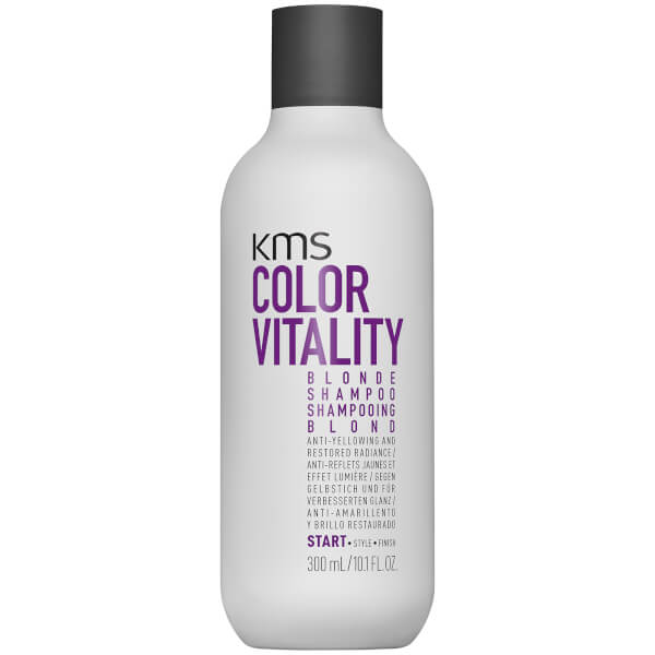 KMS Colour Vitality Blonde Shampoo 300ml