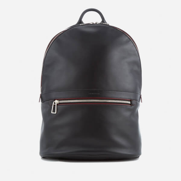 PS by Paul Smith Men's Leather Rucksack - Black