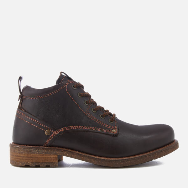 Wrangler Men's Hill Lace Up Boots - Dark Brown