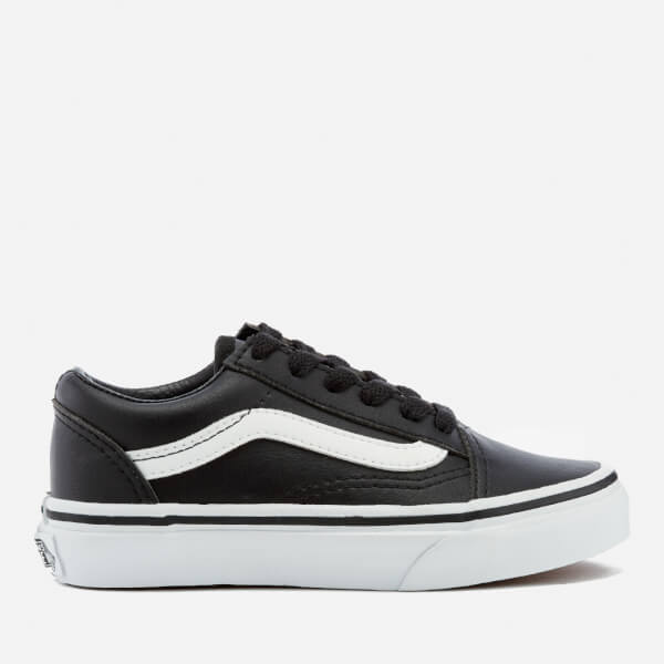 vans junior black
