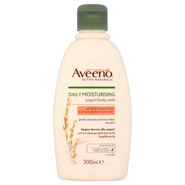 Aveeno Daily Moisturising Body Wash - Apricot and Honey 300ml