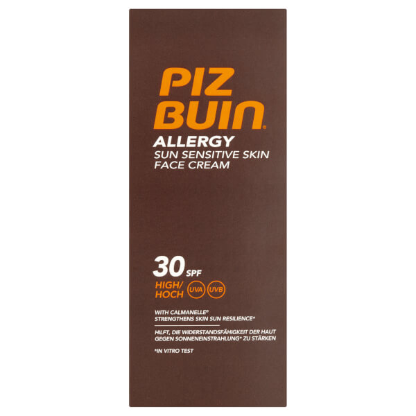 Piz Buin Allergy Sun Sensitive Skin Face Cream - High SPF30 50ml