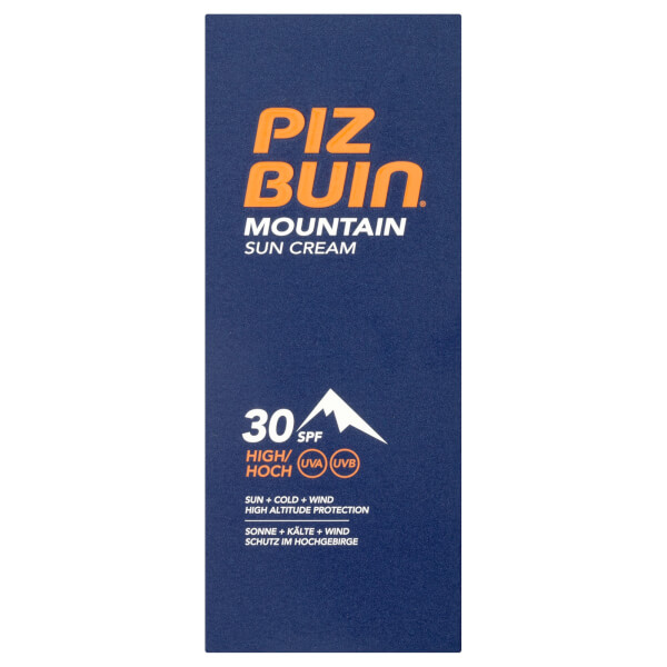 piz buin mountain sun cream high spf30 50ml lookfantastic. Black Bedroom Furniture Sets. Home Design Ideas