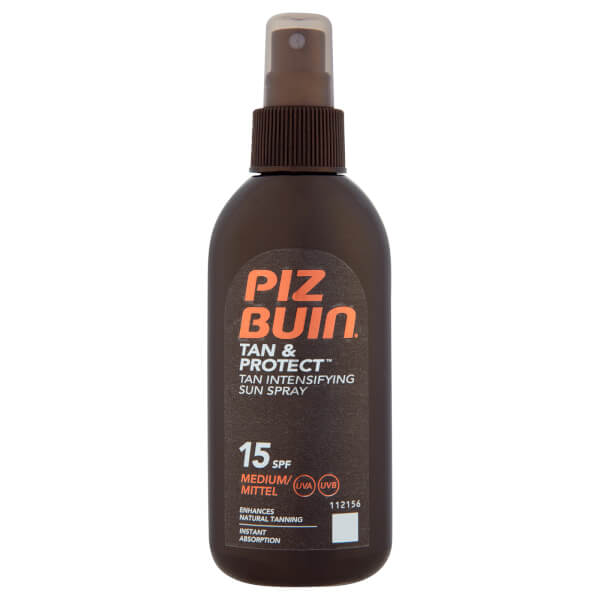 Piz Buin Tan & Protect Tan Intensifying Sun Spray - Medium SPF15 150ml
