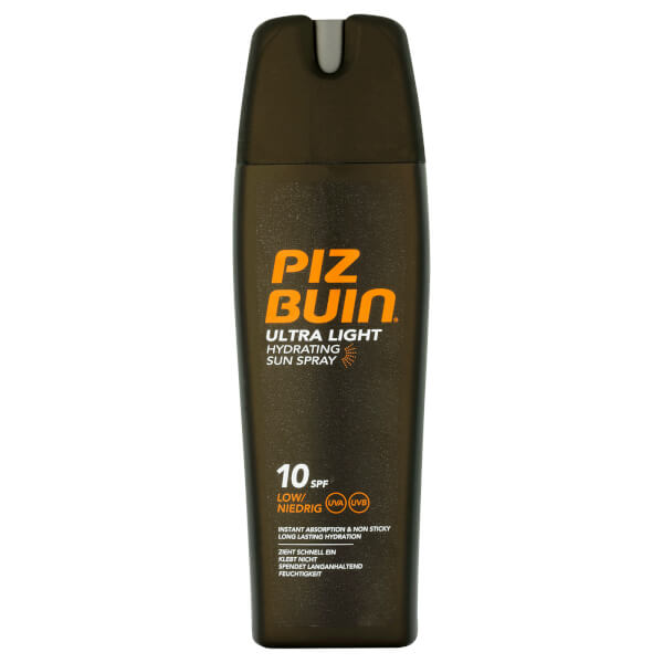 Piz Buin Ultra Light Hydrating Sun Spray - Low SPF10 200ml