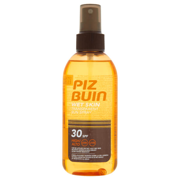 Piz Buin Wet Skin Transparent Sun Spray - High SPF30 150ml