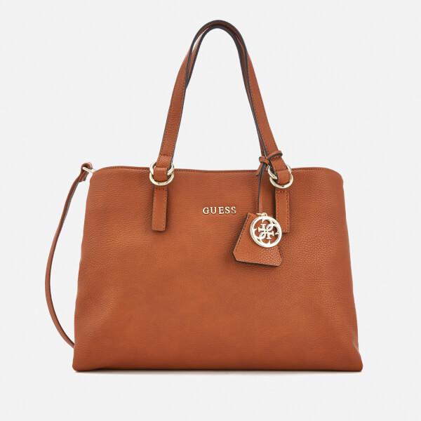 Guess Women's Tulip Satchel Bag - Cognac
