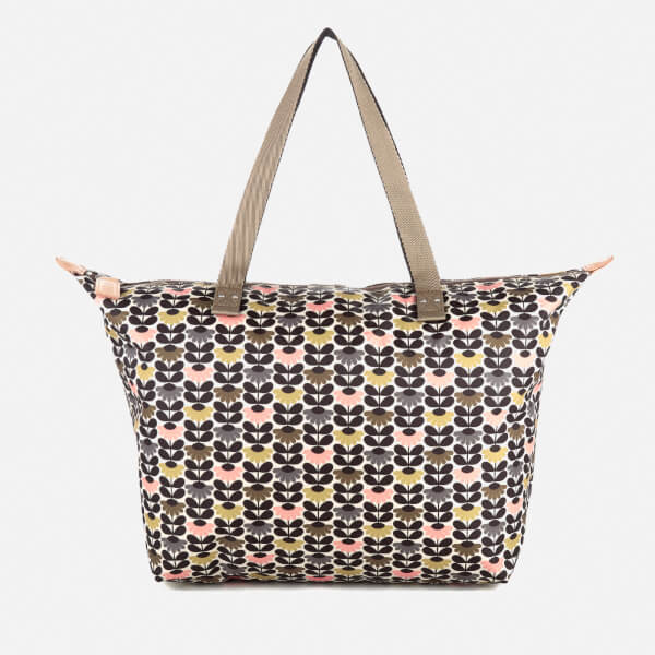 Orla Kiely Women's Zip Shopper Bag - Printed Daisy