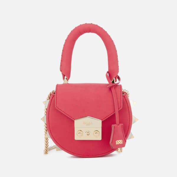 SALAR Women's Mimi Mini Bag - Berry Pink