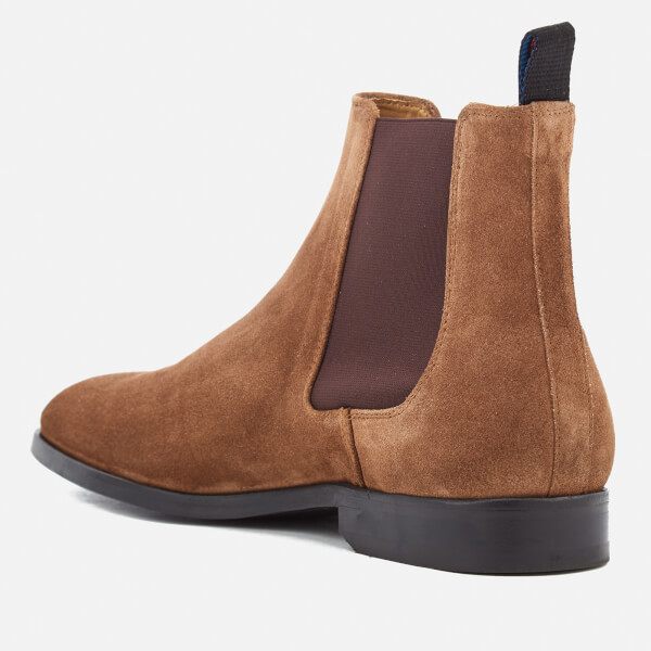 PS by Paul Smith Brown Suede Gerald Chelsea Boots wBhYR