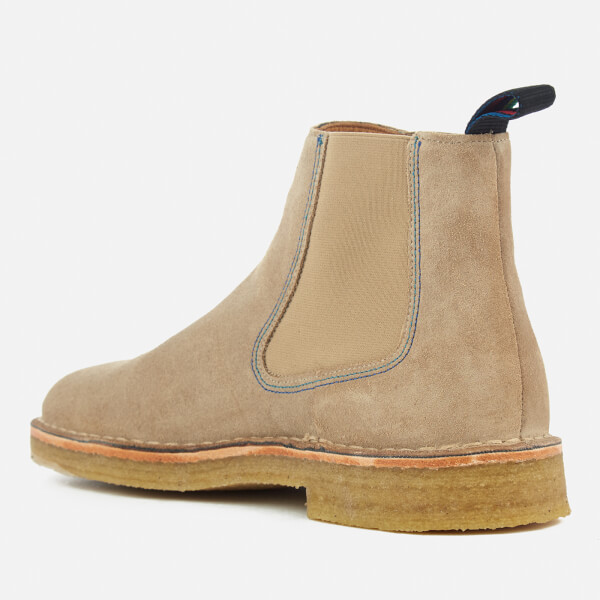 Paul Smith Men's Dart Suede Chelsea Boots - Taupe - UK 11