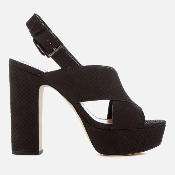 MICHAEL MICHAEL KORS Women's Mariana Sling Back Platform Sandals - Black