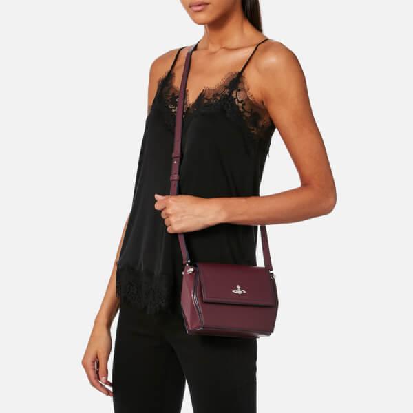 12fe25c3d89 Vivienne Westwood Women's Cambridge Cross Body Bag - Bordeaux: Image 3