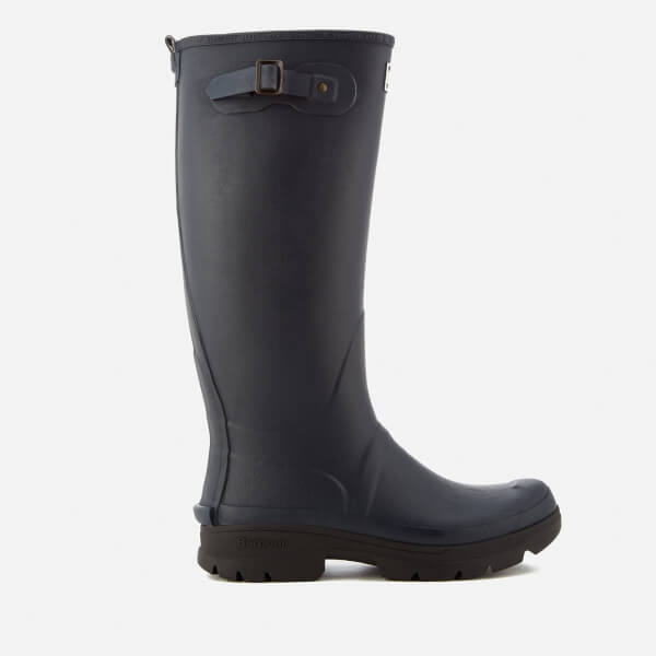 Barbour Men's Griffon Adjustable Tall Wellies - Navy