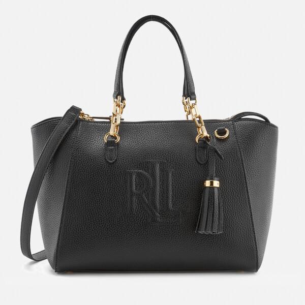 Lauren Ralph Lauren Women's Anstey Stefanie II Satchel - Black