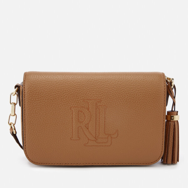 Lauren Ralph Lauren Women's Anstey Carmen Cross Body Bag - Caramel