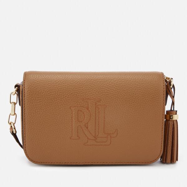 397691e5fe Lauren Ralph Lauren Women s Anstey Carmen Cross Body Bag - Caramel  Image 1