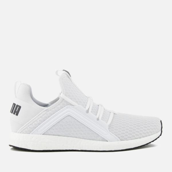 bc54bcf7cff5 Puma Men s Mega NRGY Running Trainers - White Black Mens Footwear ...