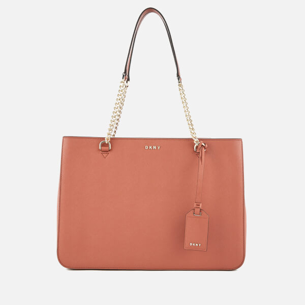 DKNY Women s Bryant Park Shopper Tote Bag - Terracotta  Image 1 ed5f6e6dd0834