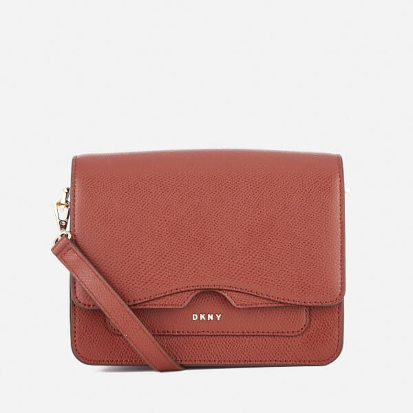 DKNY Women's Bryant Park Mini Flap Cross Body Bag - Oxide