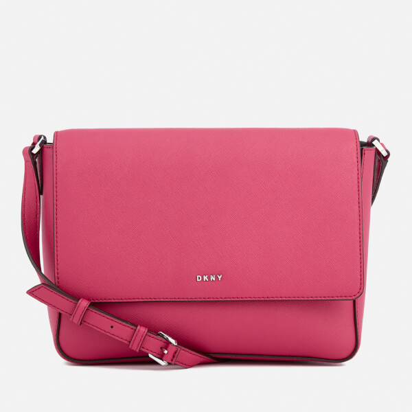 Dkny Women S Bryant Park Flap Cross Body Bag Cerise Image 1