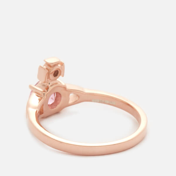 36da04adb4e42 Vivienne Westwood Reina Ring Pink - The Best Brand Ring In Wedding
