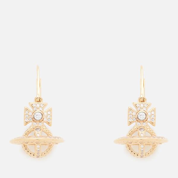 Vivienne Westwood Women's Isabella Orb Earrings - White Cubic Zirconia
