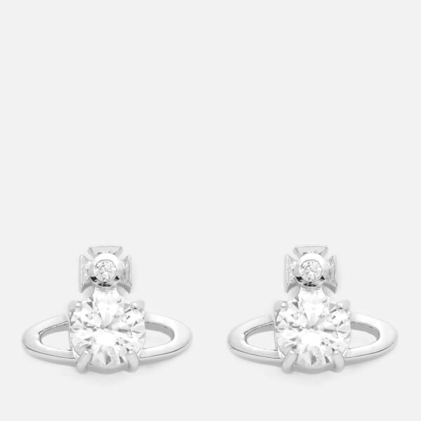 Vivienne Westwood Women's Reina Earrings - White Cubic Zirconia