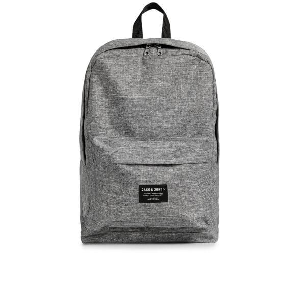 Jack & Jones Men's Basic Backpack - Grey Melange