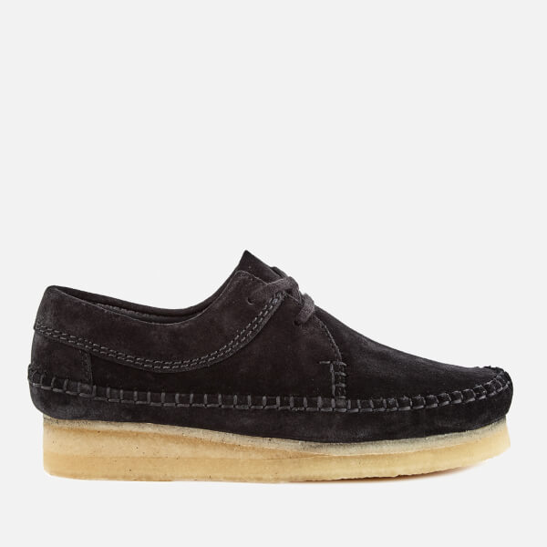 Clarks Originals Women's Weaver Shoes - Black Suede