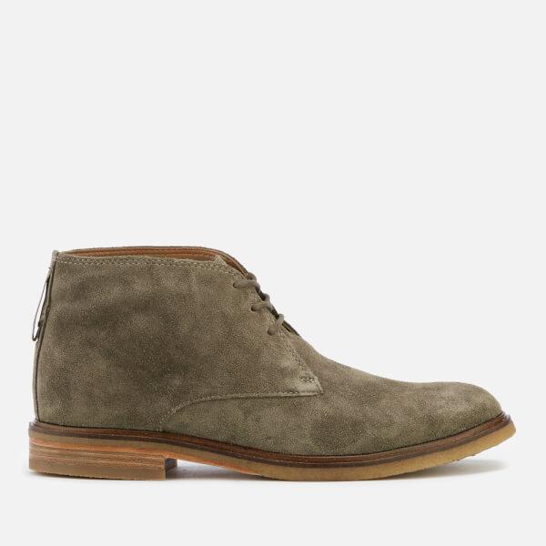 Clarks Men's Clarkdale Bara Suede Desert Boots - Olive