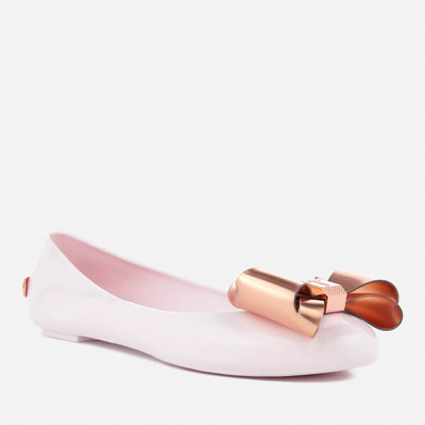 0bc92c0a5a0df5 Ted Baker Women s Julivia PVC Ballet Flats - Painted Posie  Image 2