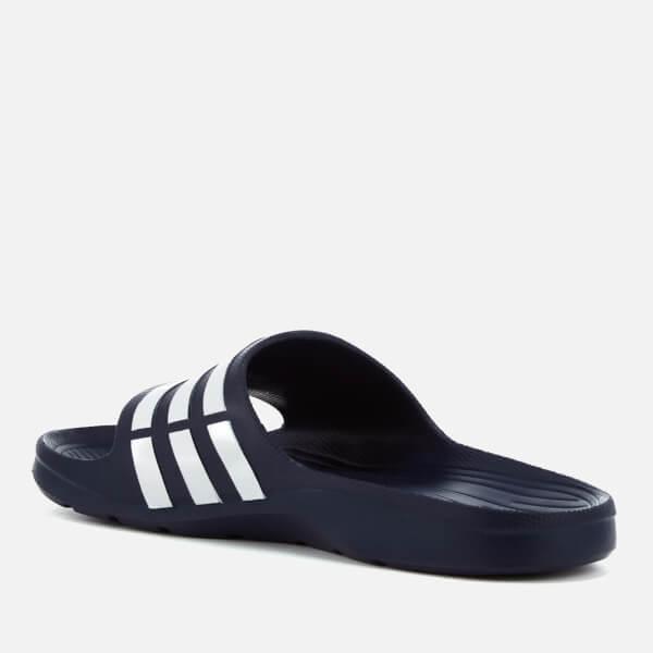 7423217ce97625 adidas Duramo Slide Sandals - Dark Blue Sports   Leisure