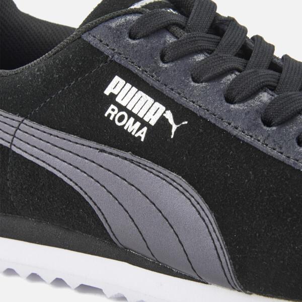 Puma Women s Roma Basic Metallic Safari Trainers - Puma Black Puma Black   Image 5 cbfce44b0