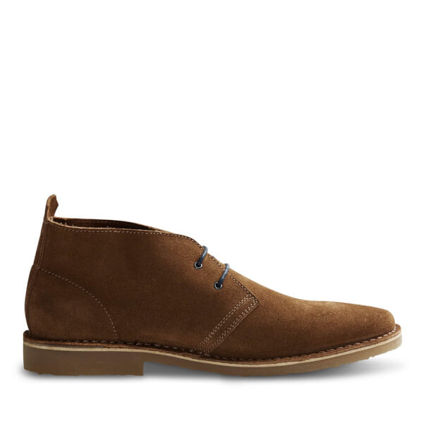 Jack & Jones Men's Gobi Suede Desert Boots - Cognac