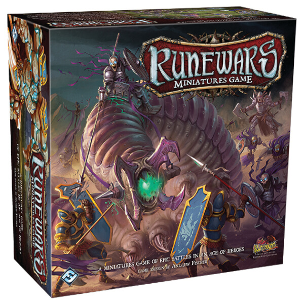 Runewars Miniatures Board Game Core Set