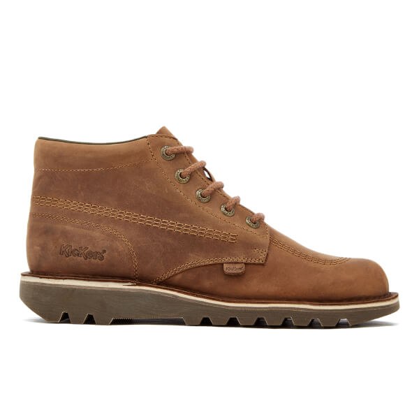 Kickers Men's Kick Hi Leather Boots - Brown