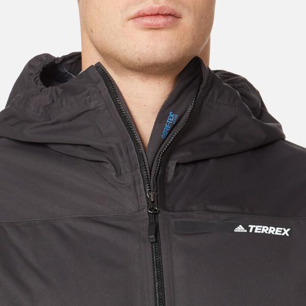 3 Jacket Layer Men's Black Clothing Gtx Terrex Multi Adidas
