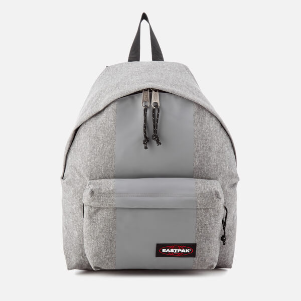 Eastpak Men's Authentic Rubber-Lay Padded Pak'r Backpack - Grey Rubber